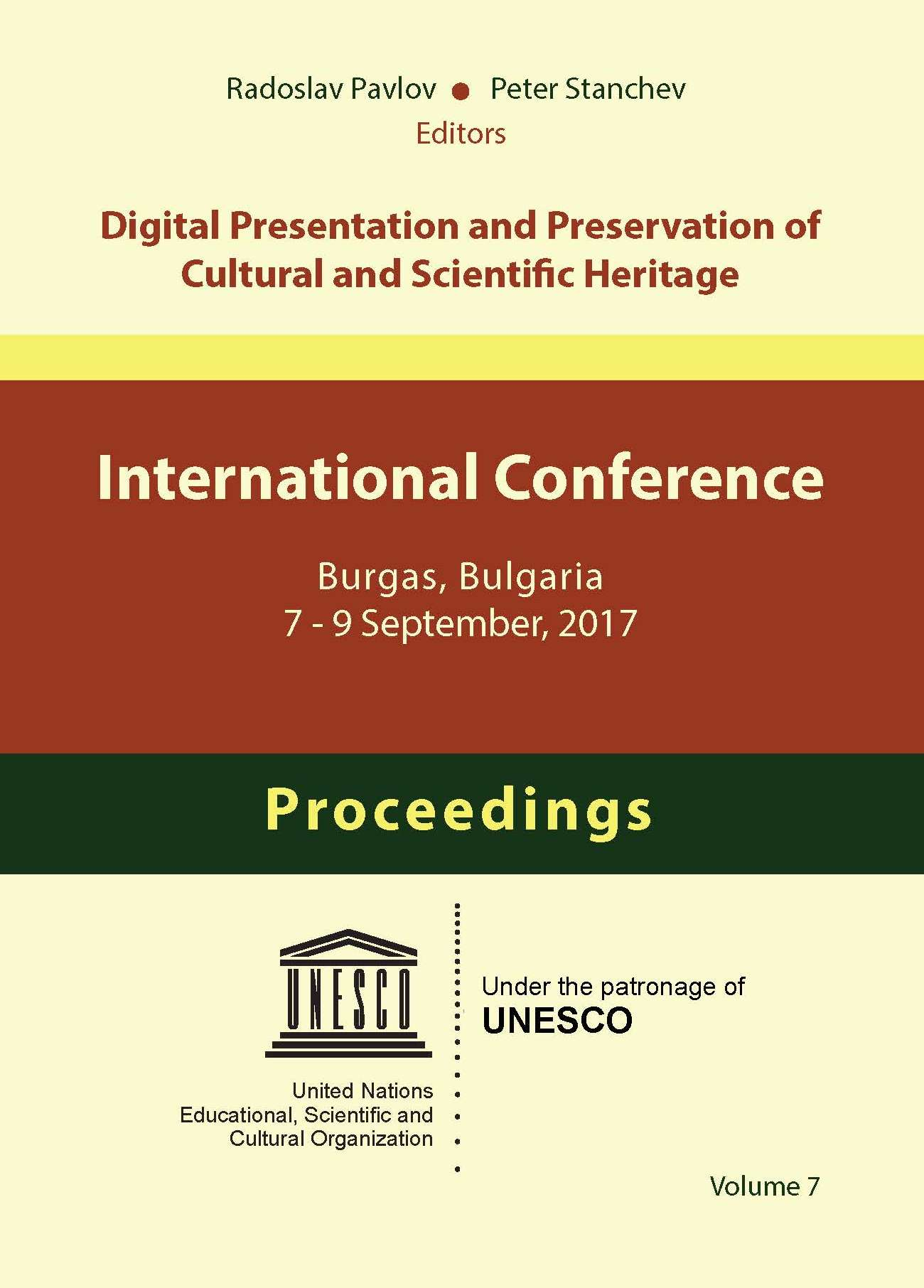 Digital Presentation and Preservation of Cultural and Scientific Heritage