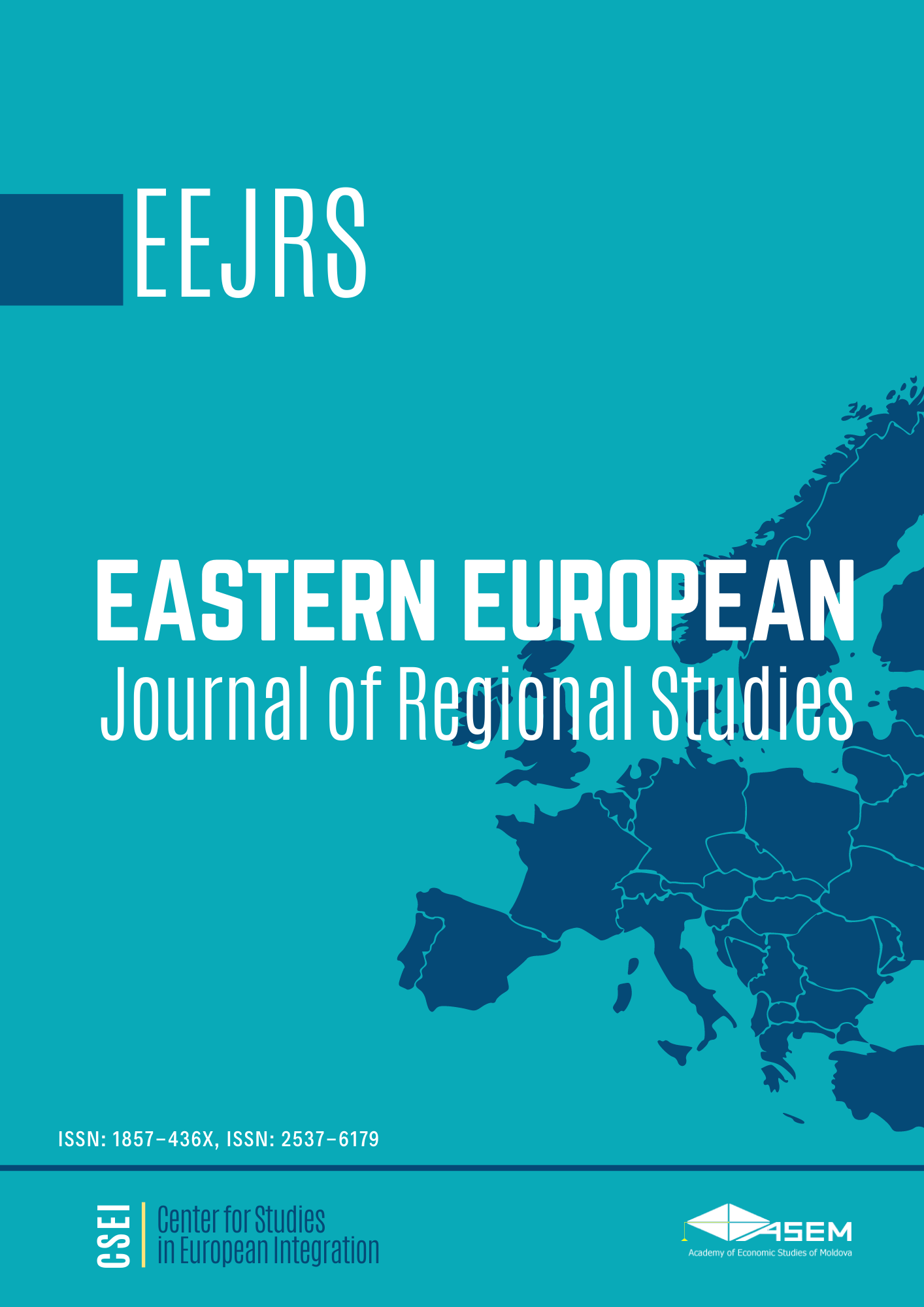 Eastern European Journal for Regional Studies (EEJRS) Cover Image