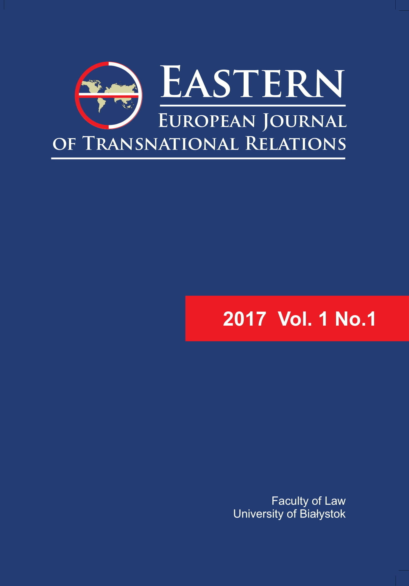 Eastern European Journal of Transnational Relations
