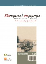 Economic- and Ecohistory - Scientific Research Journal for Economic and Environmental History Cover Image