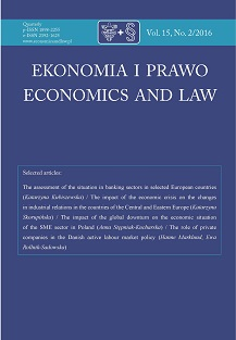 Economics and Law Cover Image