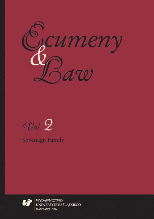 Ecumeny and Law