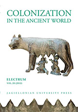 Electrum. Studies in Ancient History Cover Image