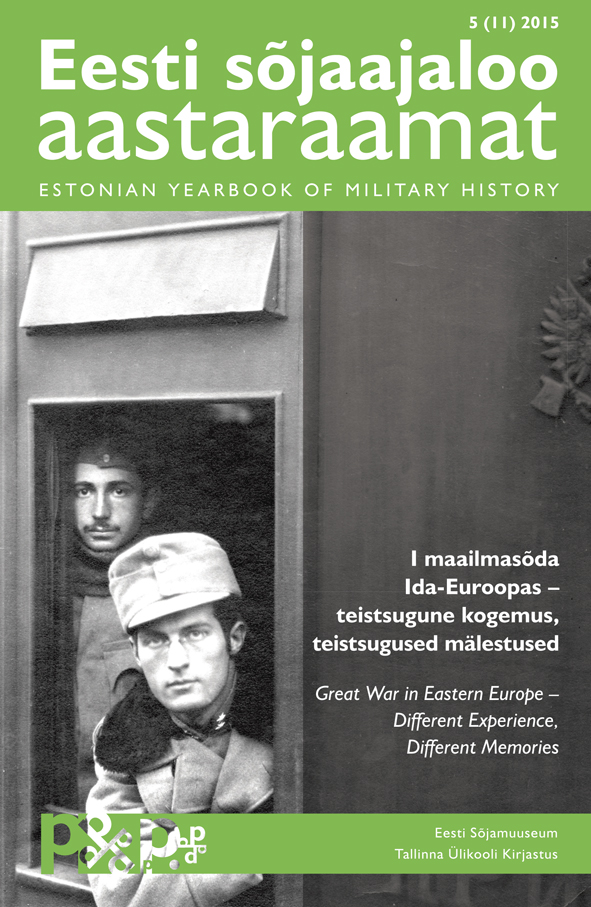 Estonian Yearbook of Military History Cover Image