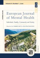 European Journal of Mental Health Cover Image