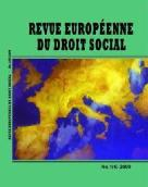 European Journal of Social Law Cover Image