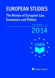 European Studies - the Review of European Law, Economics and Politics Cover Image