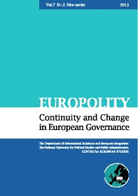 Europolity - Continuity and Change in European Governance Cover Image