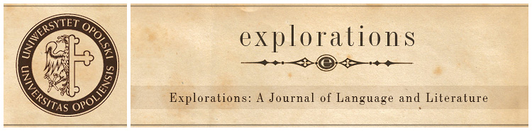 Explorations: A Journal of Language and Literature