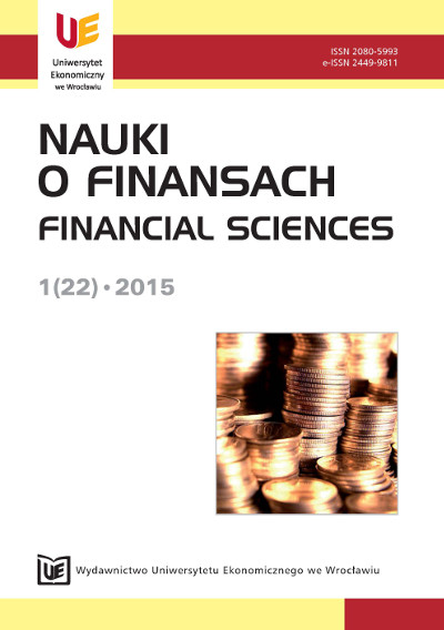 Financial Sciences Cover Image