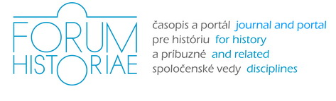 Forum Historiae. Journal and Portal for History and Related Disciplines Cover Image