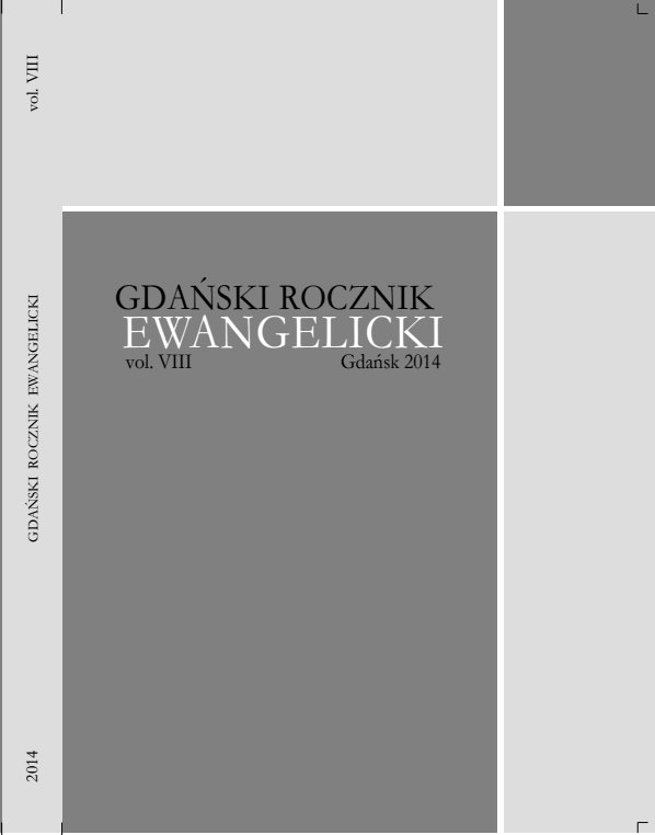 Gdansk Evangelical Yearbook Cover Image