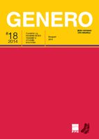 Genero: A Journal of Feminist Theory and Cultural Studies Cover Image