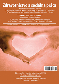 Health and Social Work Cover Image