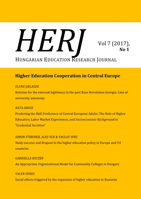 HERJ Hungarian Educational Research Journal