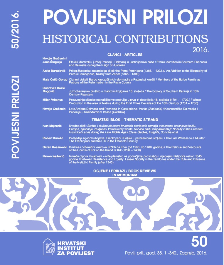 Historical Contributions Cover Image