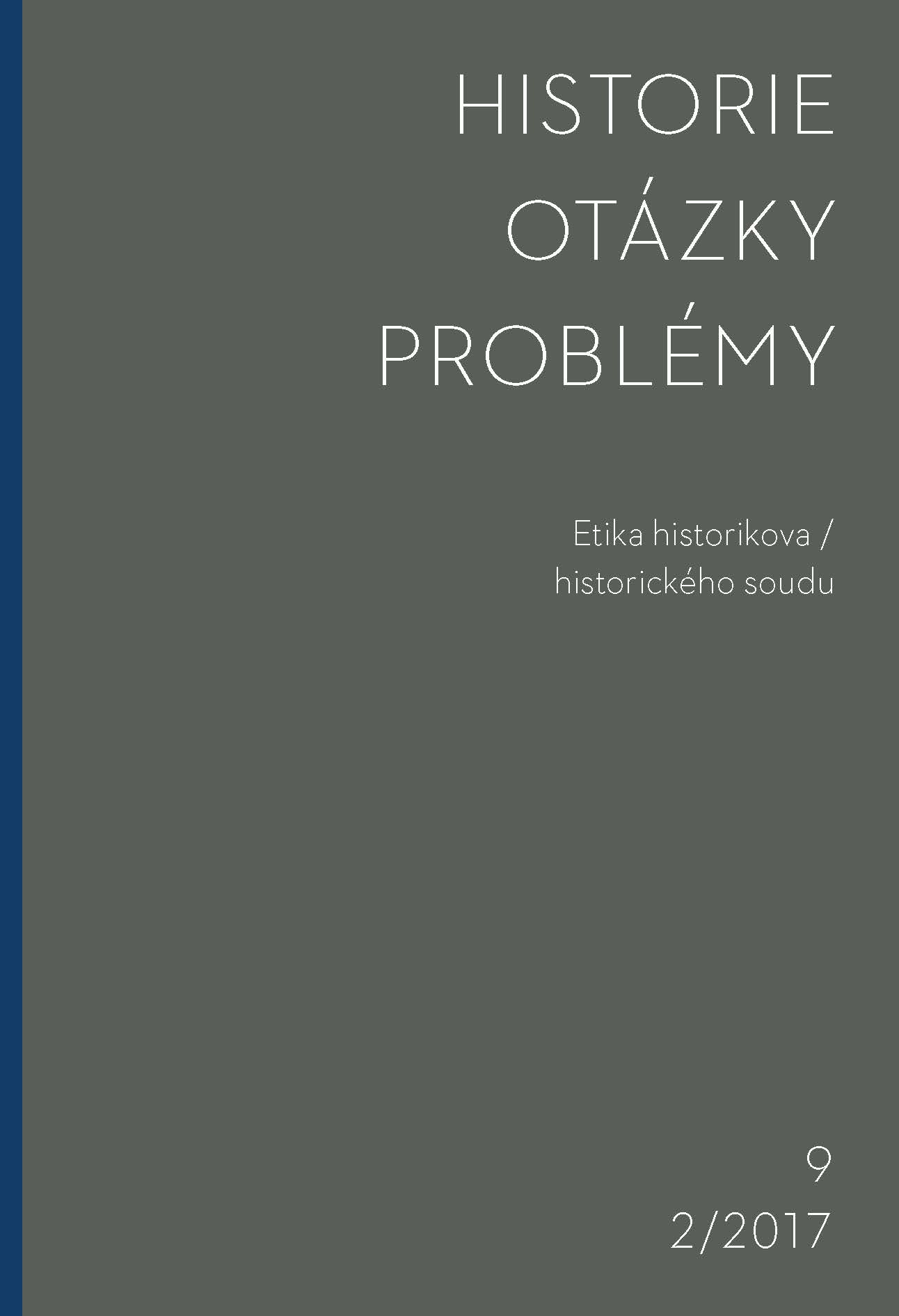 History – Issues – Problems Cover Image