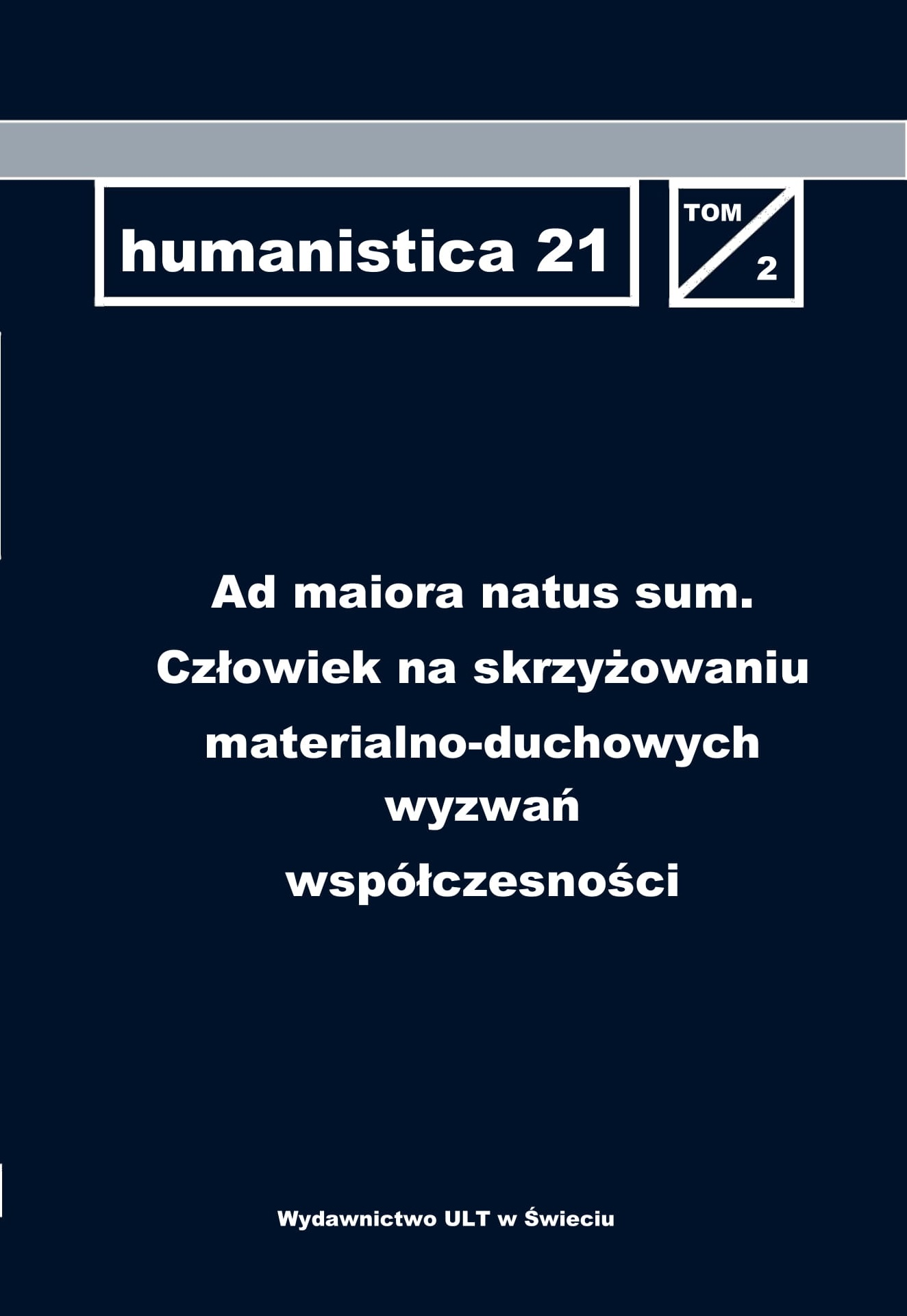 humanistica 21 Cover Image