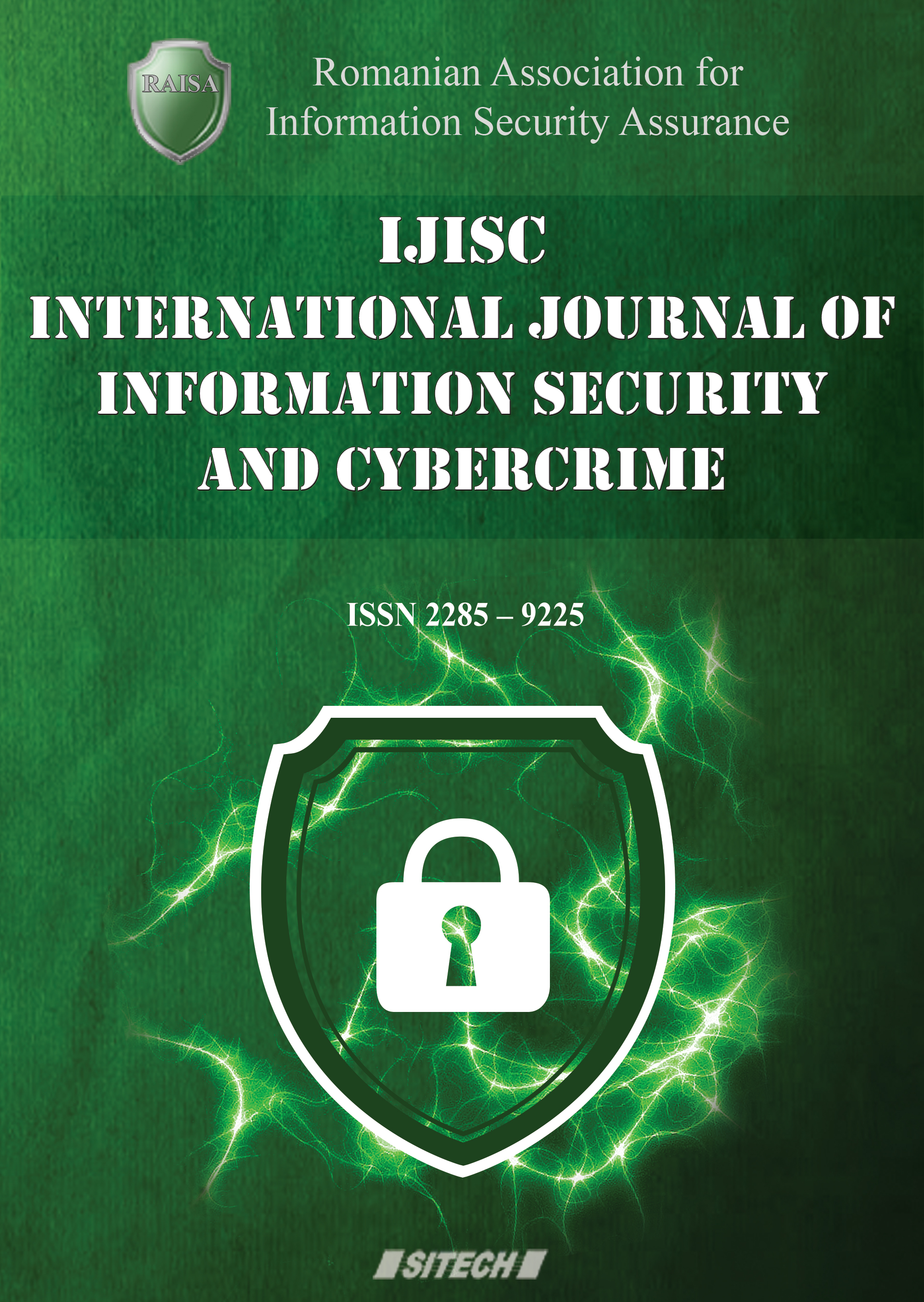 International Journal of Information Security and Cybercrime (IJISC) Cover Image