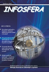 INFOSFERA - Journal of Security Studies and Defense Cover Image