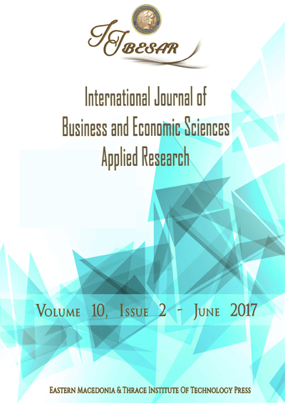 International Journal of Business and Economic Sciences Applied Research (IJBESAR)