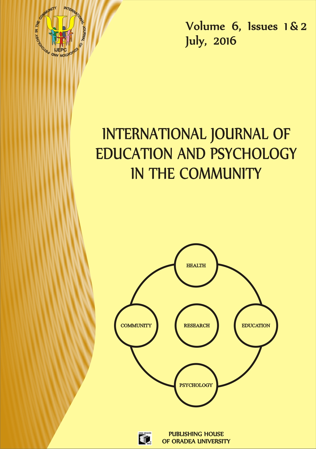 International Journal of Education and Psychology in the Community (IJEPC) Cover Image