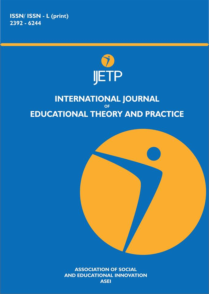 International Journal of Educational Theory and Practice (IJETP)