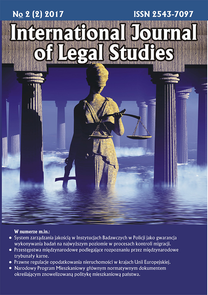 International Journal of Legal Studies (IJOLS)