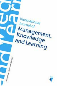 International Journal of Management, Knowledge and Learning Cover Image