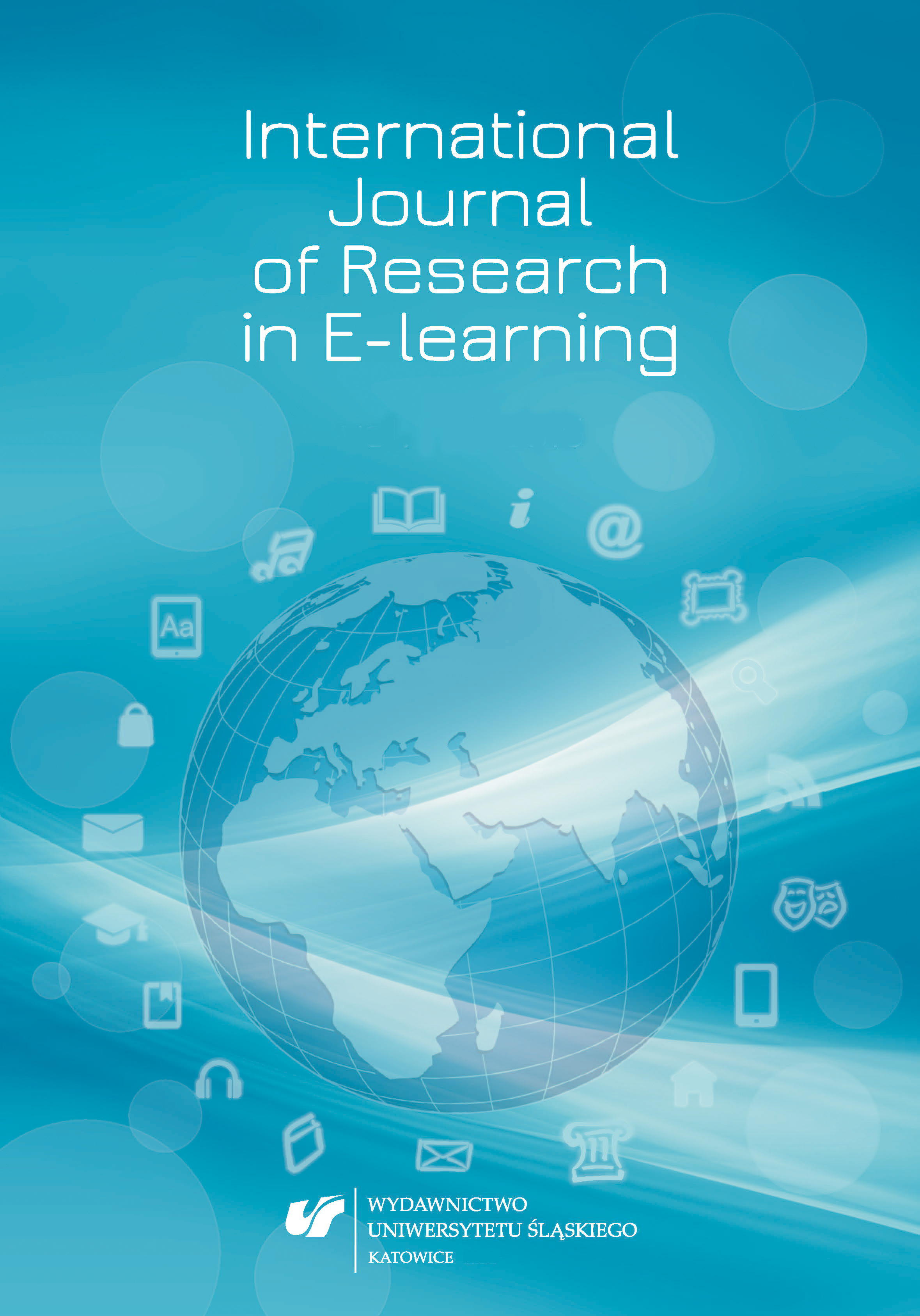 International Journal of Research in E-learning Cover Image