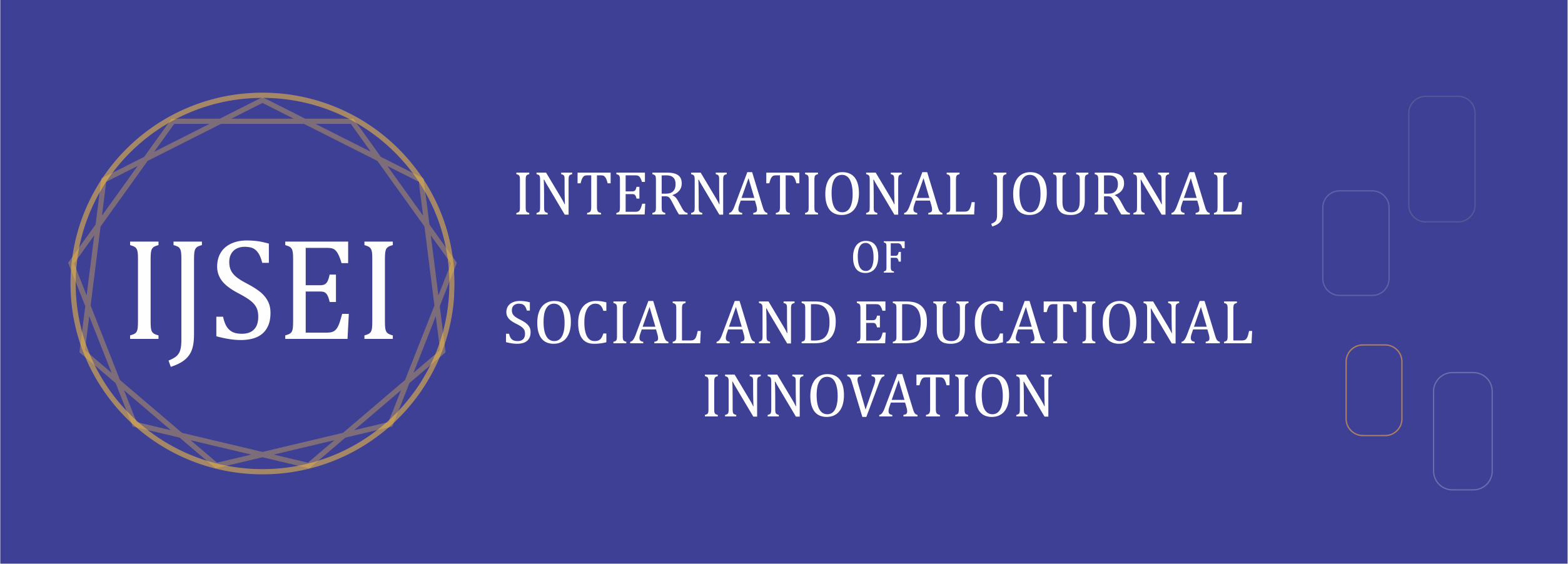 International Journal of Social and Educational Innovation (IJSEIro)