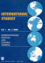 International Studies: Interdisciplinary Political and Cultural Journal (IS) Cover Image