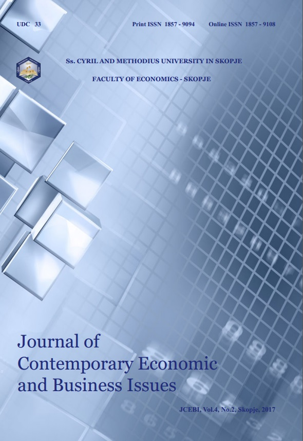 Journal оf Contemporary Economic аnd Business Issues Cover Image
