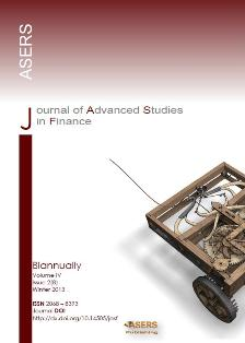 Journal of Advanced Studies in Finance (JASF)