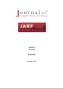Journal of Applied Research in Finance (JARF) Cover Image