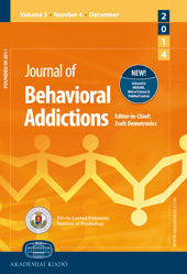 Journal of Behavioral Addictions Cover Image