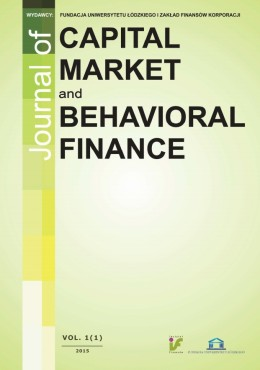Journal of Capital Market and Behavioral Finance Cover Image