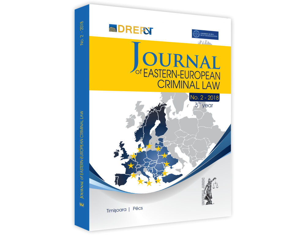 Journal of Eastern European Criminal Law Cover Image
