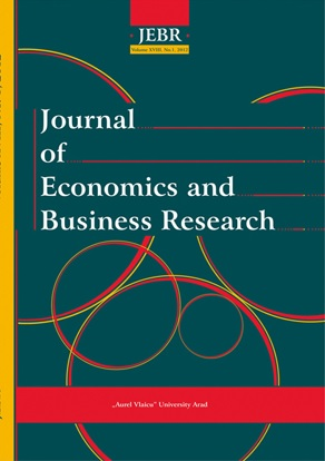Journal of Economics and Business Research Cover Image