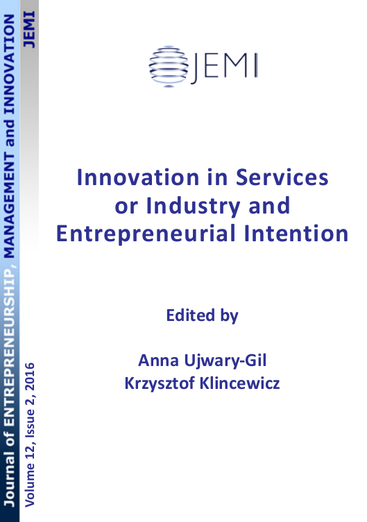 Journal of Entrepreneurship, Management and Innovation Cover Image