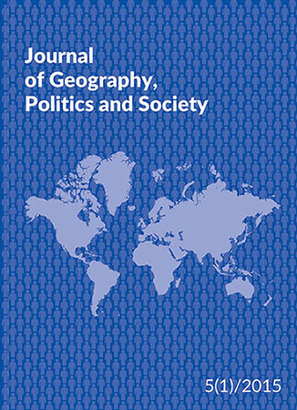 Journal of Geography, Politics and Society Cover Image