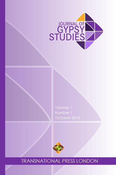 Journal of Gypsy Studies Cover Image