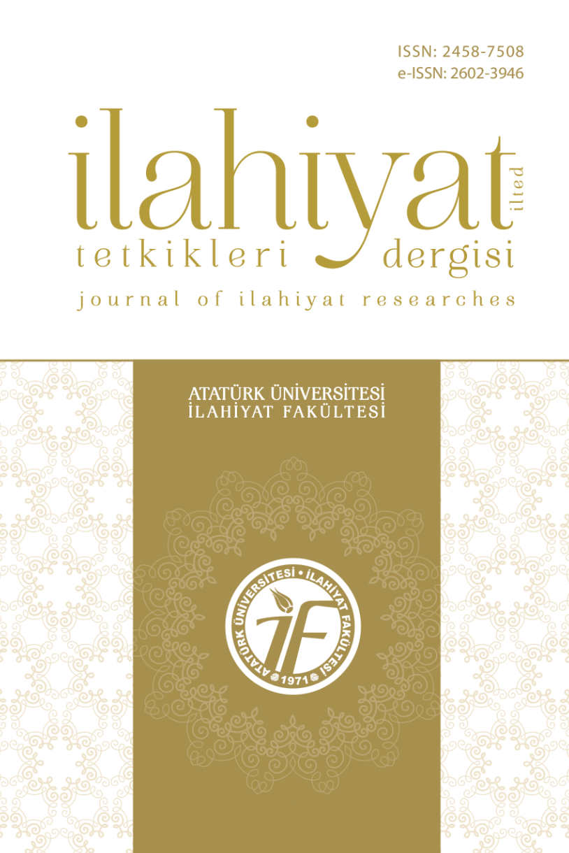 Journal of Ilahiyat Researches Cover Image