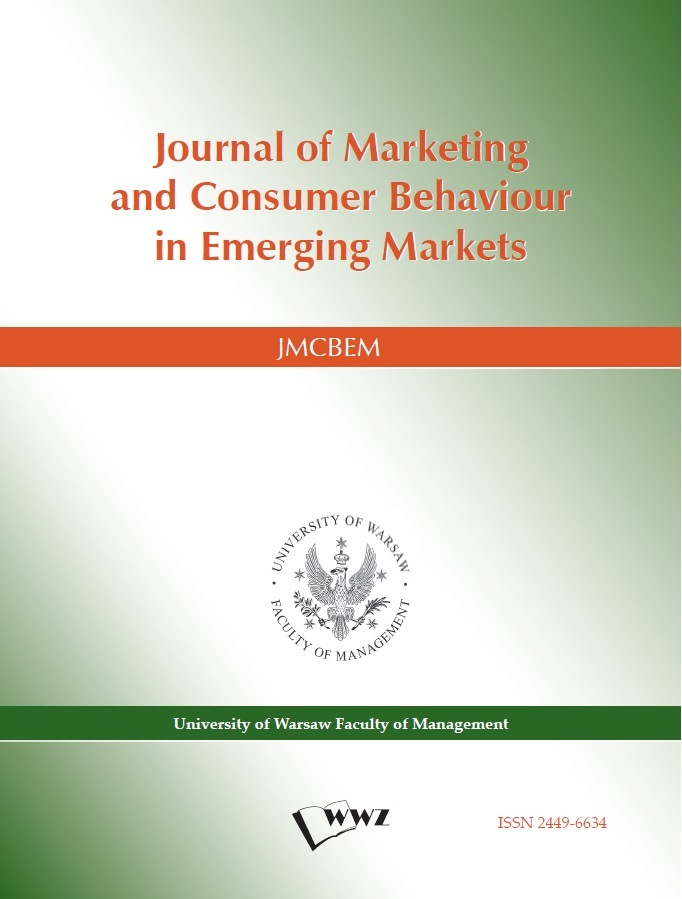 Journal of Marketing and Consumer Behaviour in Emerging Markets