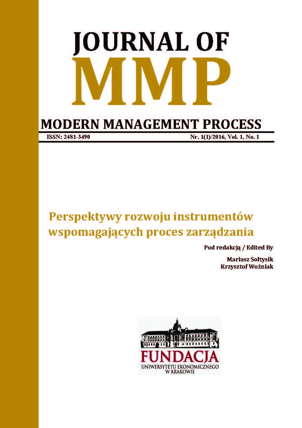 Journal of Modern Management Process