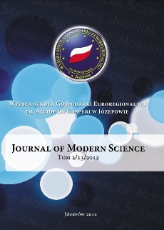 Journal of Modern Science Cover Image