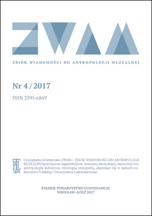Collection of Anthropological Museal Information Cover Image