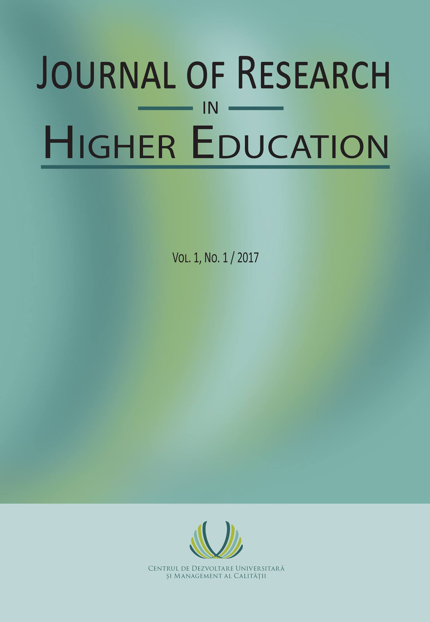 Journal of Research in Higher Education