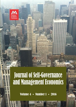 Journal of Self-Governance and Management Economics Cover Image