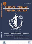 Juridical Tribune Cover Image